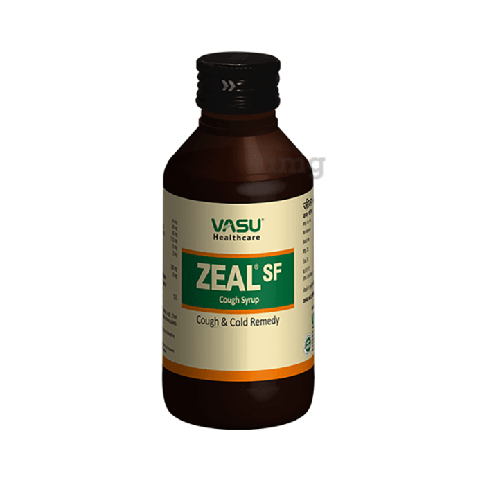 Vasu Zeal Sf Cough Syrup