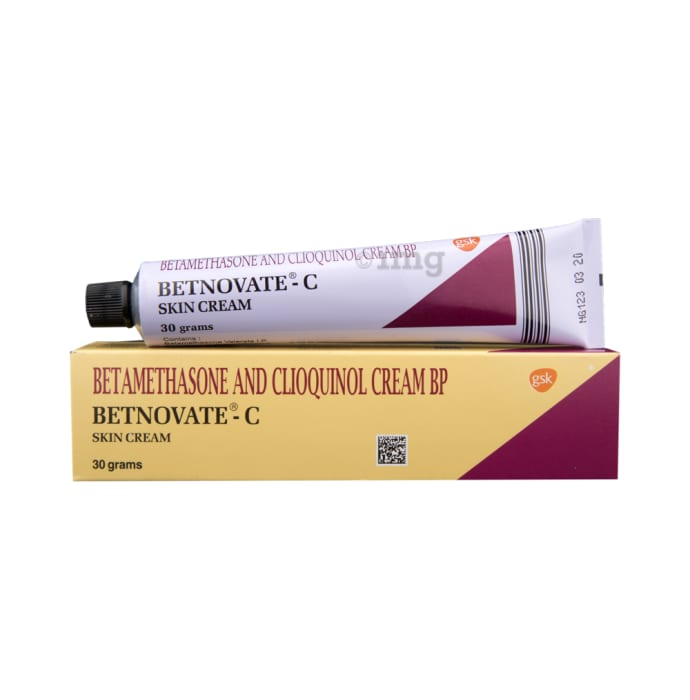Betnovate-C Cream: View Uses, Side Effects, Price and Substitutes | 1mg