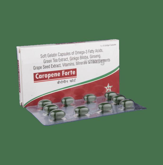 Caropene Forte Soft Gelatin Capsule