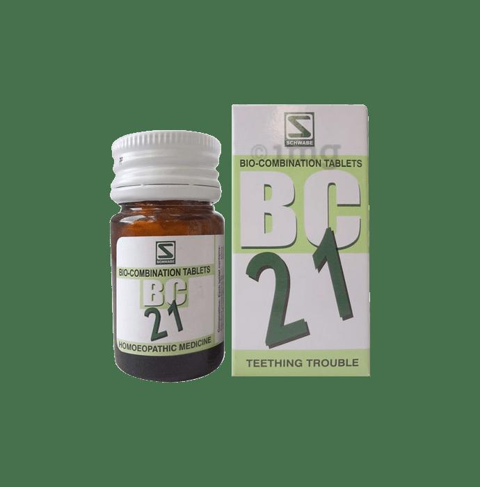 Dr Willmar Schwabe India Bio-Combination 21 (BC 21) Tablet