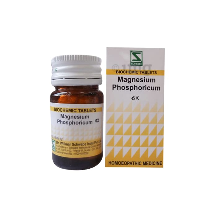 Dr Willmar Schwabe India Magnesium Phosphoricum Biochemic Tablet 6X