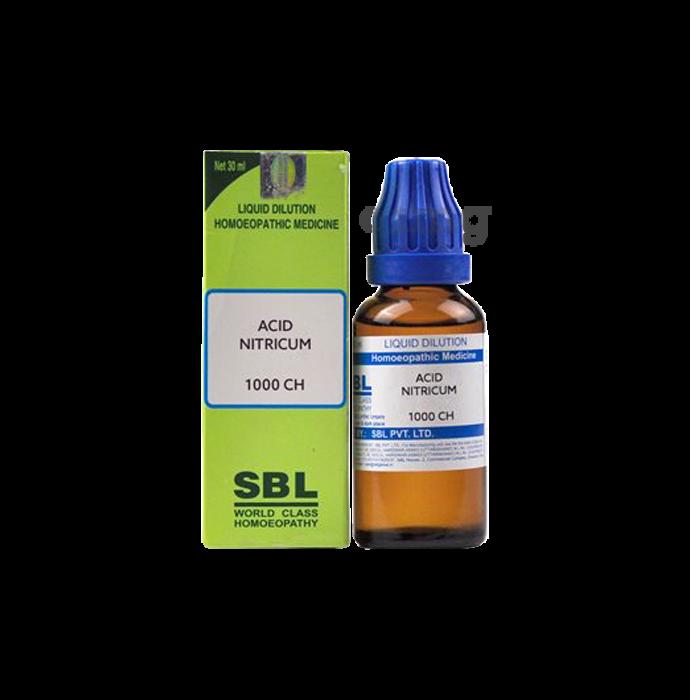 SBL Acid Nitricum Dilution 1000 CH