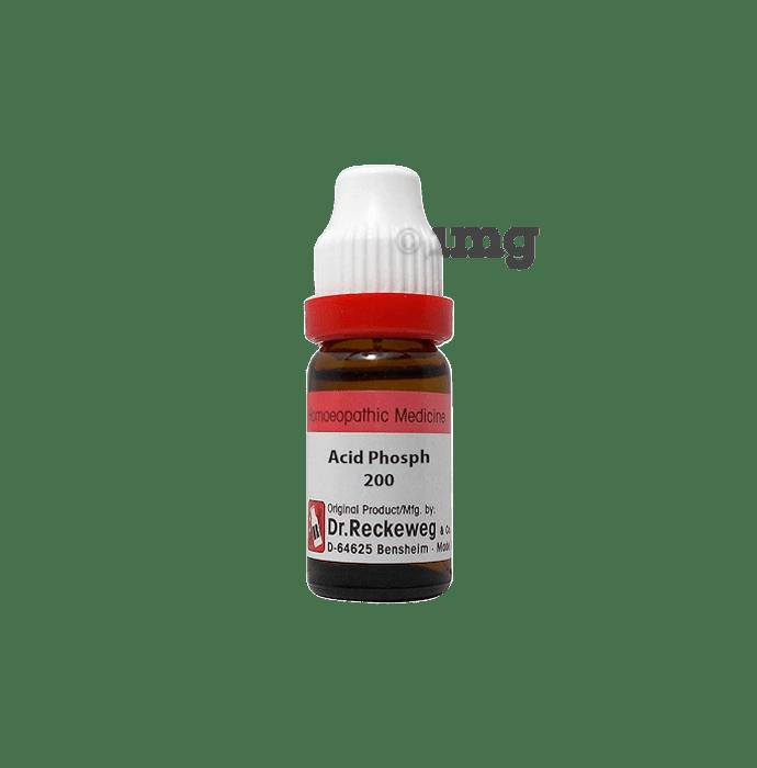 Dr. Reckeweg Acidum Phosph Dilution 200 CH