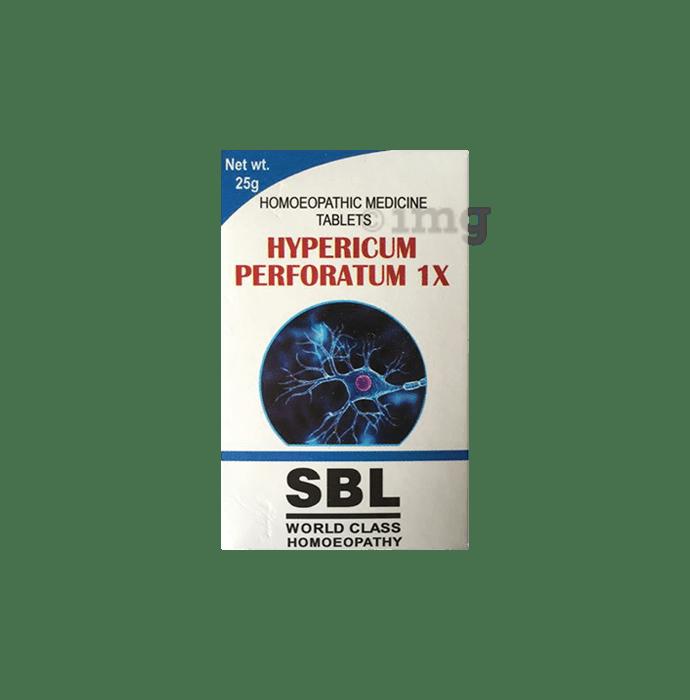 SBL Hypericum Perforatum Tablet 1X