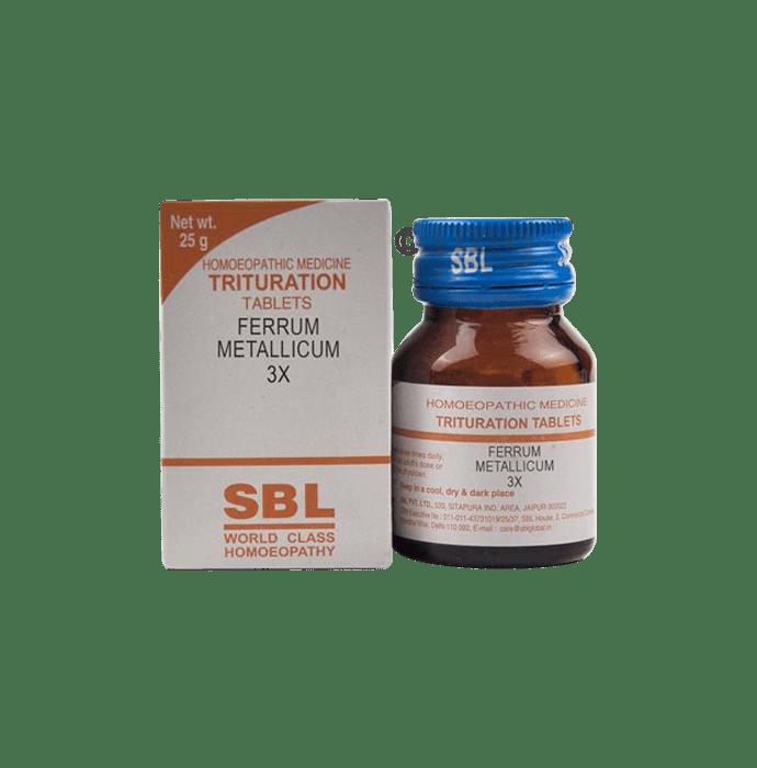 SBL Ferrum Metallicum Trituration Tablet 3X