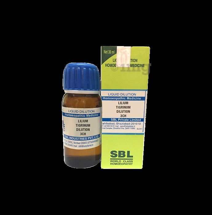 SBL Lilium Tigrinum Dilution 3 CH