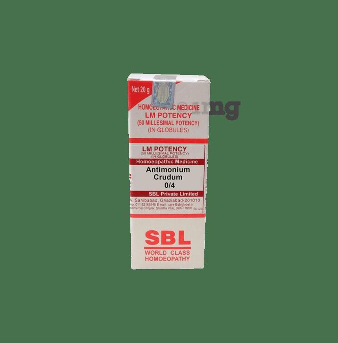 SBL Antimonium Crudum 0/4 LM
