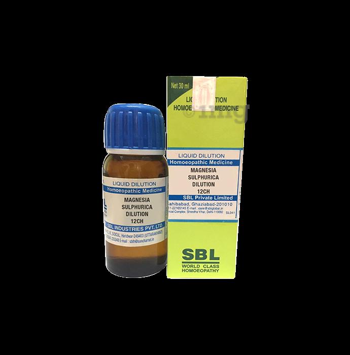 SBL Magnesia Sulphurica Dilution 12 CH