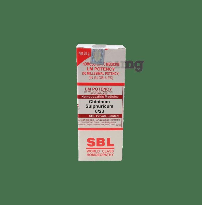 SBL Chininum Sulphuricum 0/23 LM