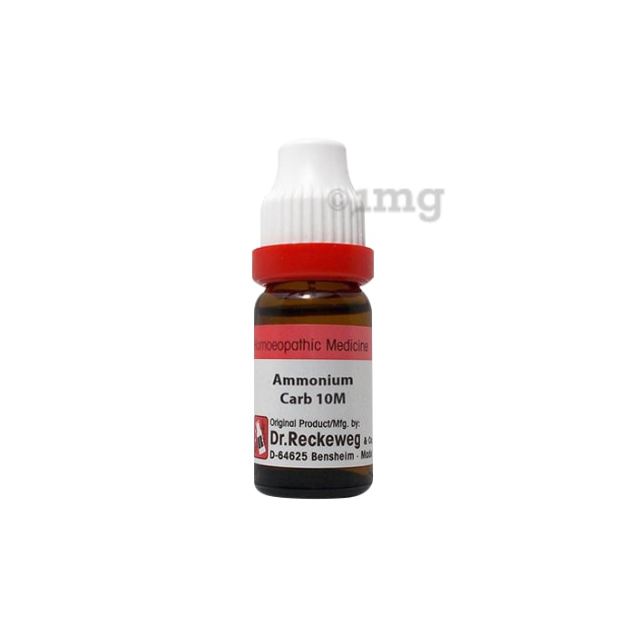 Dr. Reckeweg Ammonium Carb Dilution 10M CH