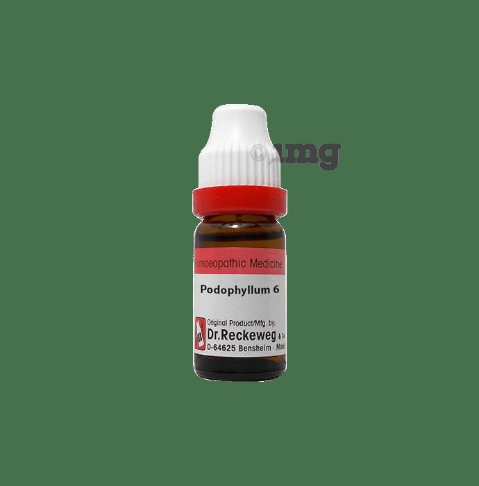 Dr. Reckeweg Podophyllum Dilution 6 CH