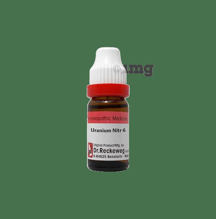 Dr. Reckeweg Uranium Nitricum Dilution 6 CH