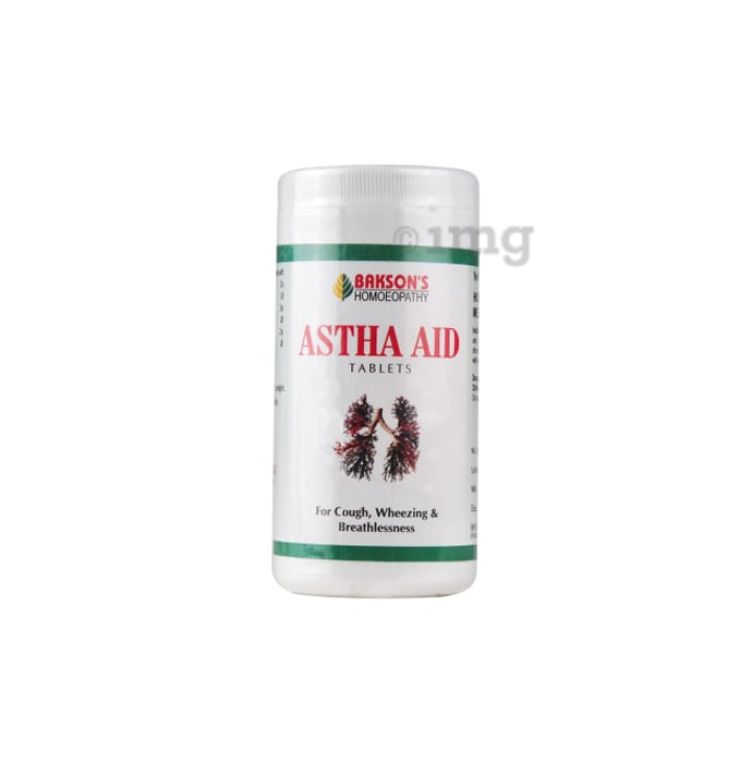 Bakson's Astha Aid Tablet