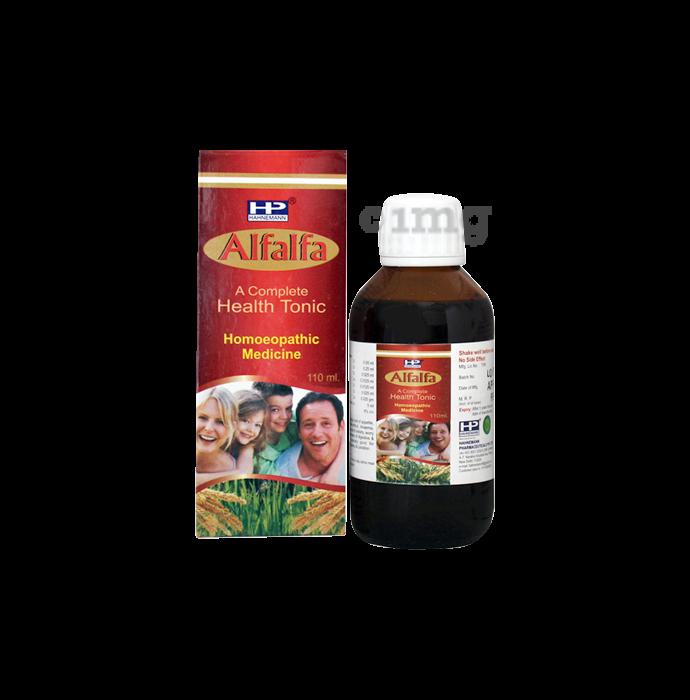 Hahnemann Alfalfa Syrup