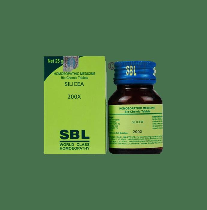 SBL Silicea Biochemic Tablet 200X