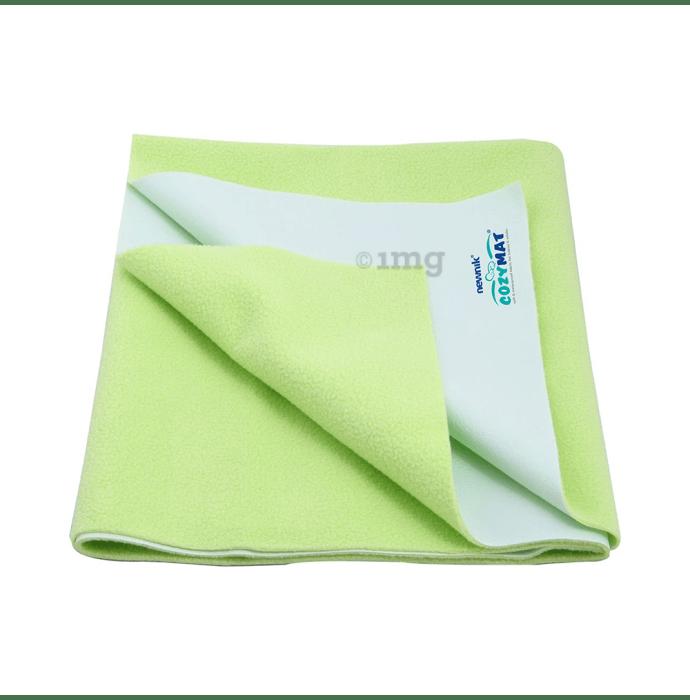 Newnik Cozymat, Dry Sheet (Size: 140cm X 100cm) Large Lemon Green