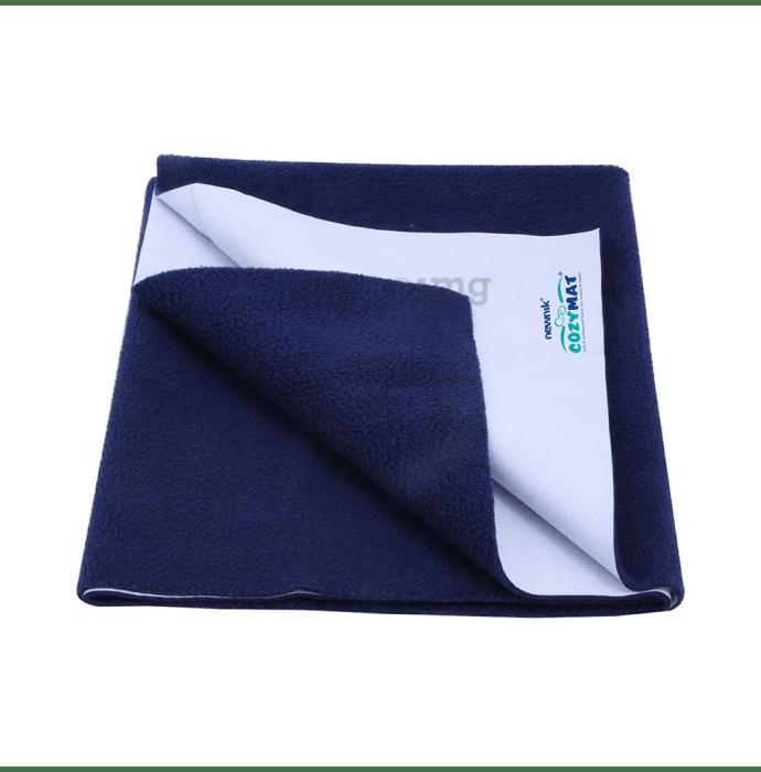 Newnik Cozymat, Dry Sheet, (Size: 70cm X 50cm) Small Navy Blue