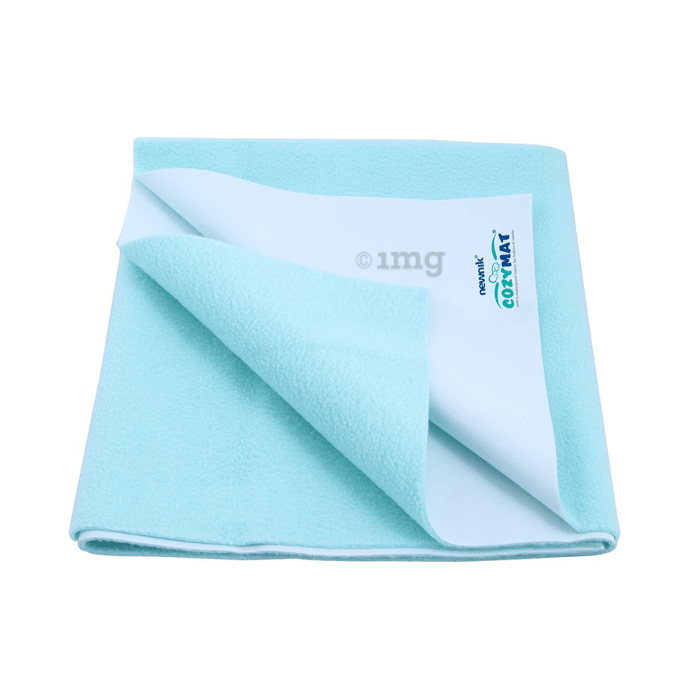 Newnik Cozymat, Dry Sheet, (Size: 70cm X 50cm) Small Sea Green