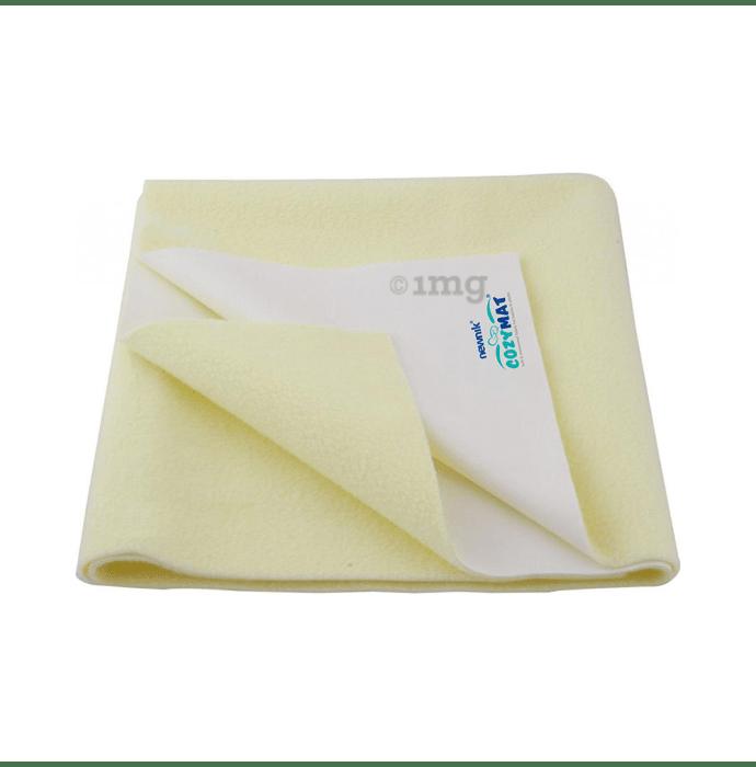 Newnik Cozymat, Dry Sheet, (Size: 70cm X 50cm) Small Yellow