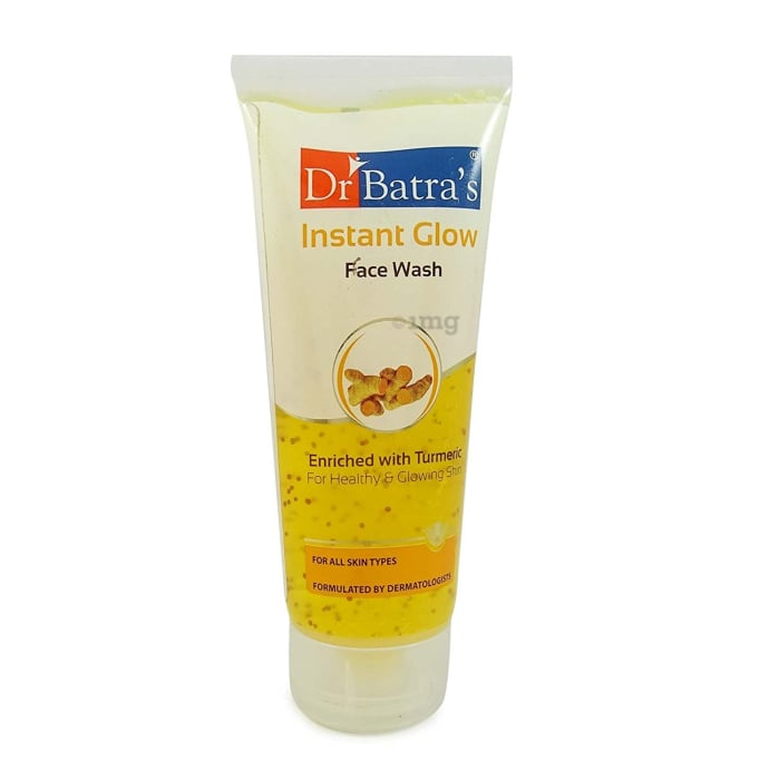 Dr Batra's Instant Glow Enriched With Turmeric Face Wash