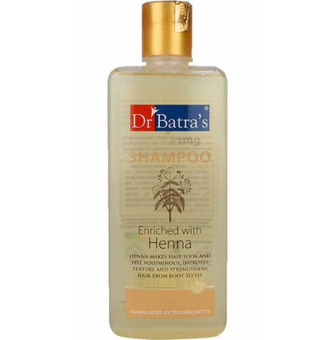 Dr Batra's Normal Shampoo (Enriched With Henna)