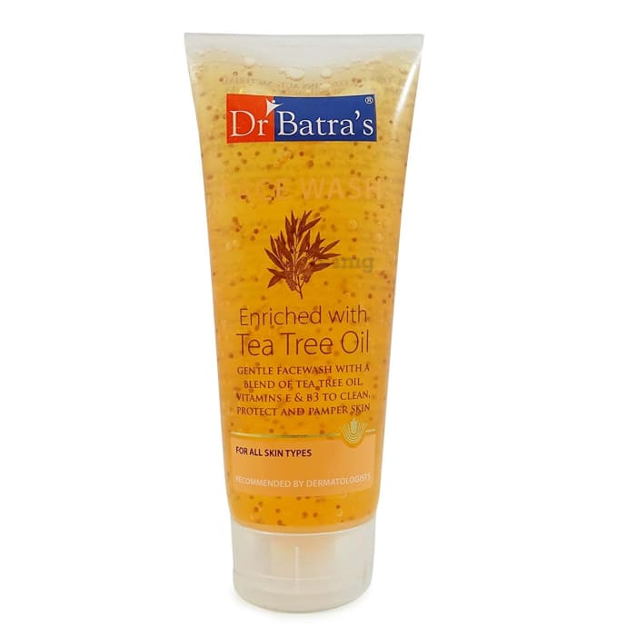 Dr Batra's Face Wash - Daily Care (Enriched with Tea Tree Oil)