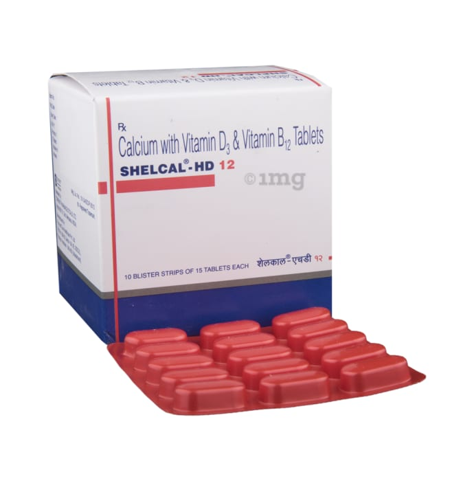 Shelcal -HD 12 Tablet