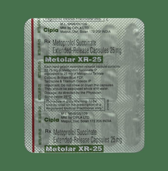 Metolar 25 mg omeprazole
