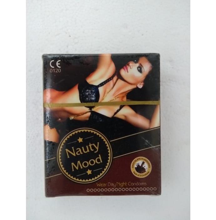 Nauty Mood Condom Chocolate