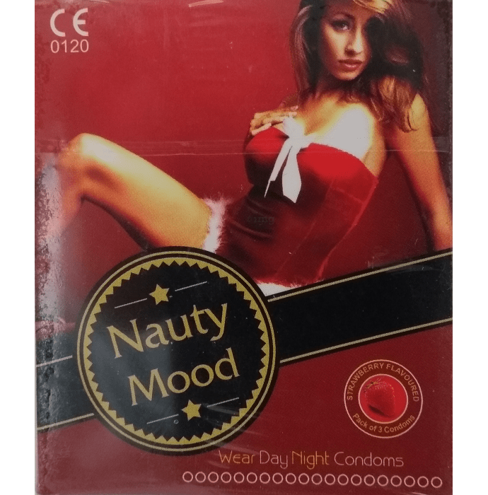 Nauty Mood Condom Strawberry