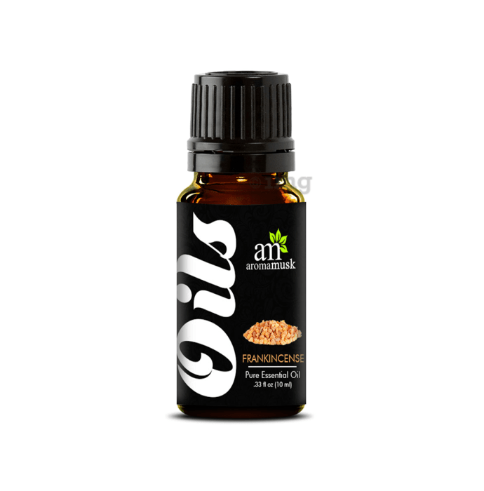 AromaMusk 100% Pure Frankincense Essential Oil