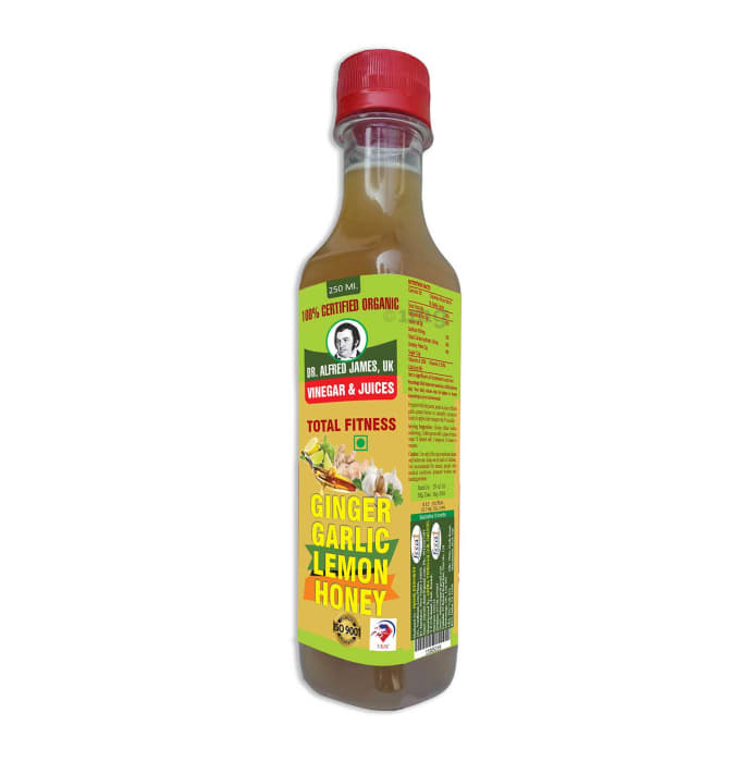 Dr. Alfred James Ginger Garlic Lemon Honey