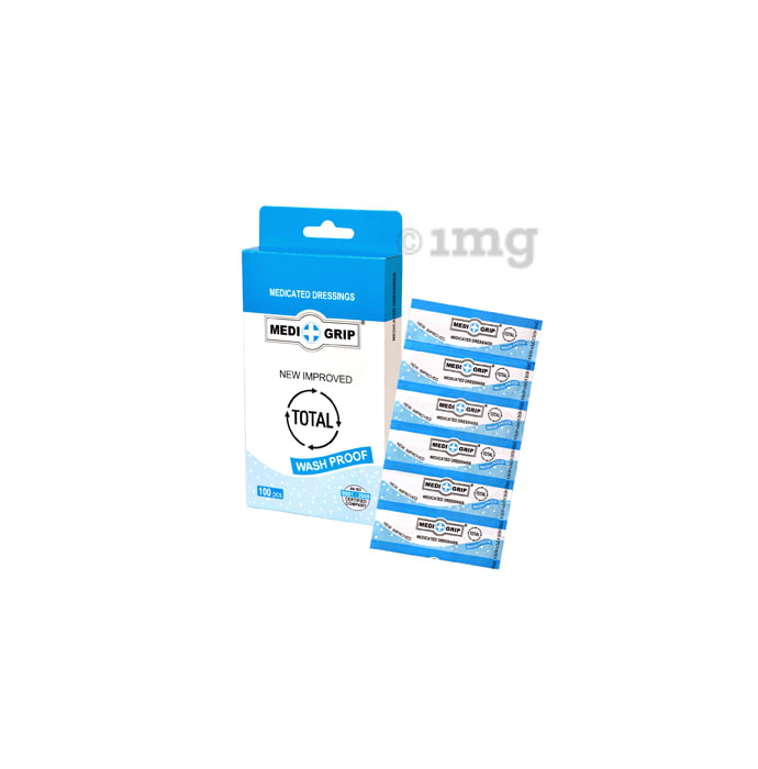 Medigrip Washproof First Aid Plaster