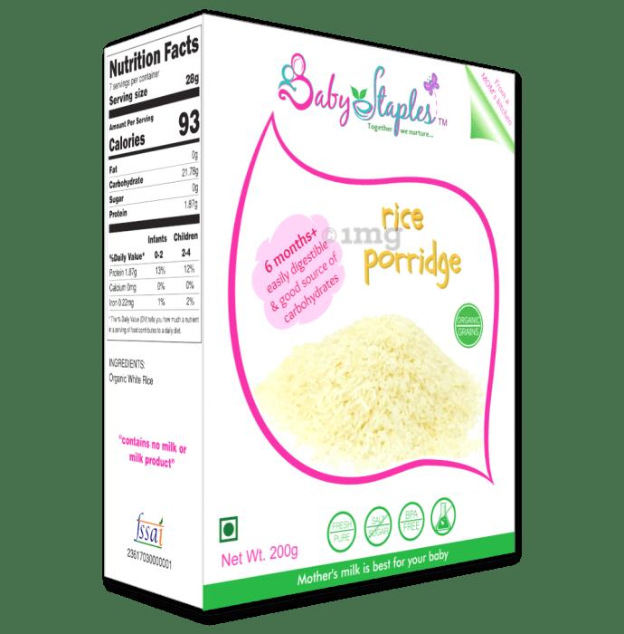Baby Staples Organic Rice Porridge