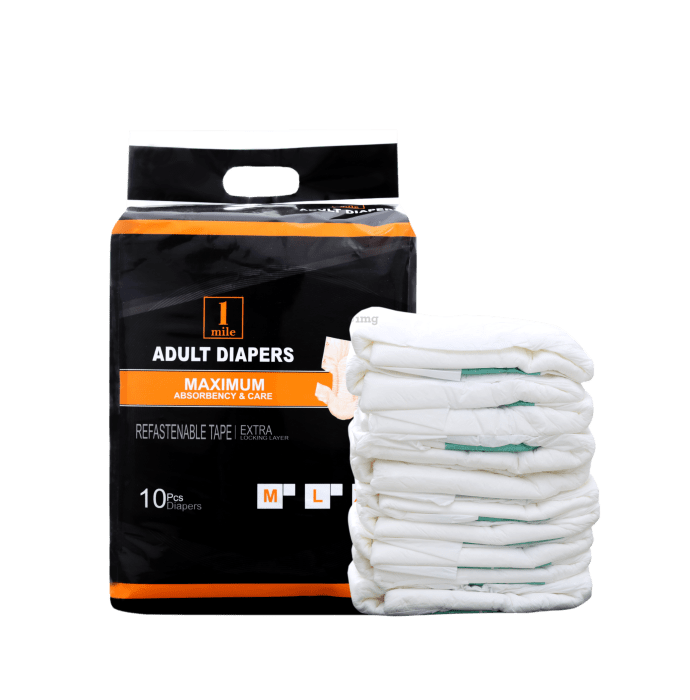 1Mile Adult Diaper L