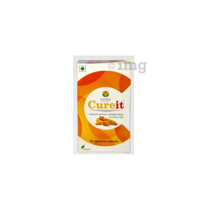 Aurea Biolabs Cureit - Bio Efficient Curcumin Veg Capsule