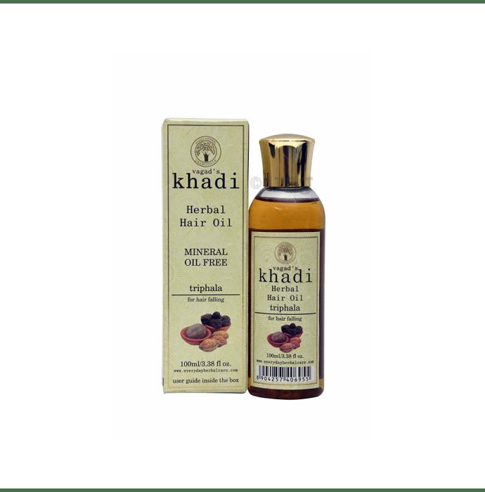 Vagad's Khadi Triphala Mineral Free Hair Oil
