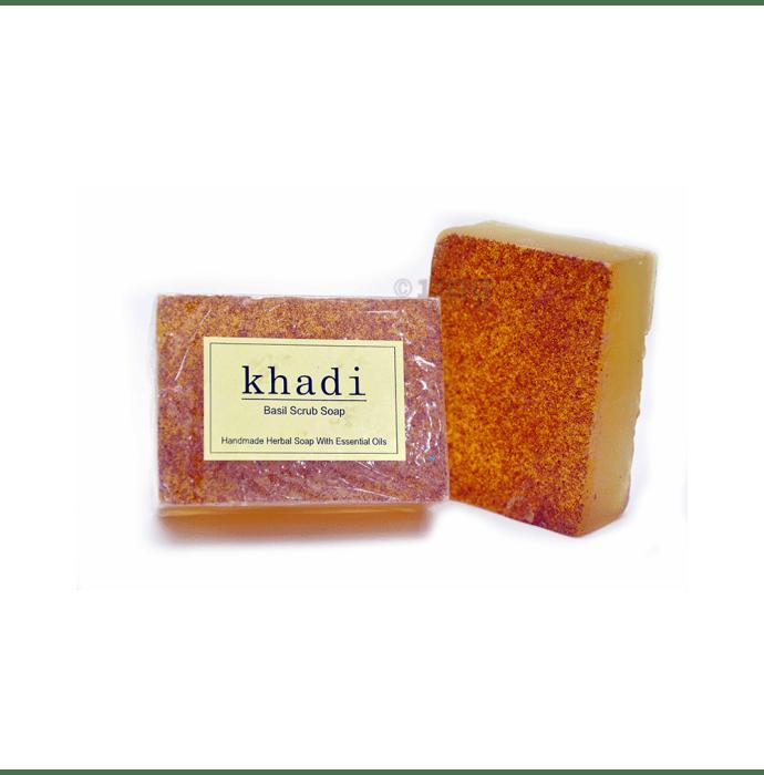 Vagad's Khadi Basil Scrub Soap