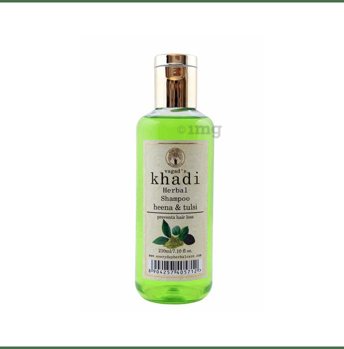 Vagad's Khadi Henna & Tulsi Herbal Shampoo