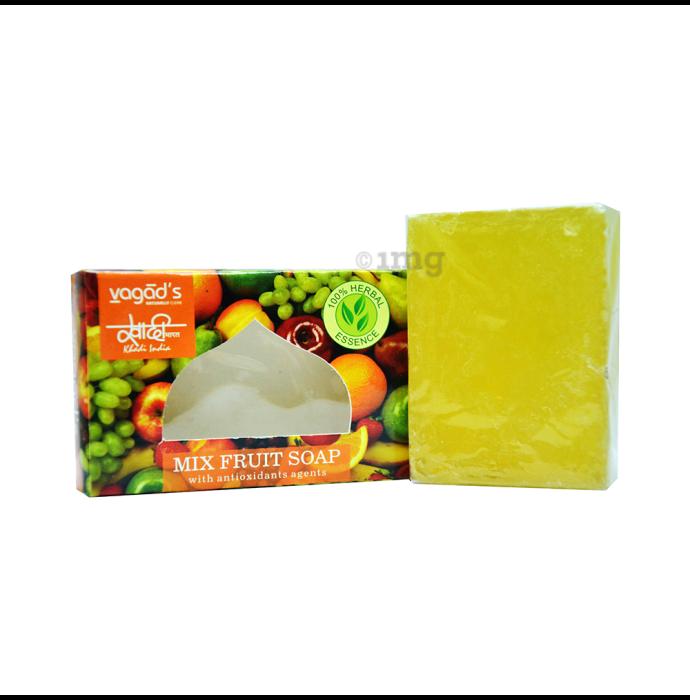 Vagad's Khadi Mix Fruit Soap with Antioxidant Agents