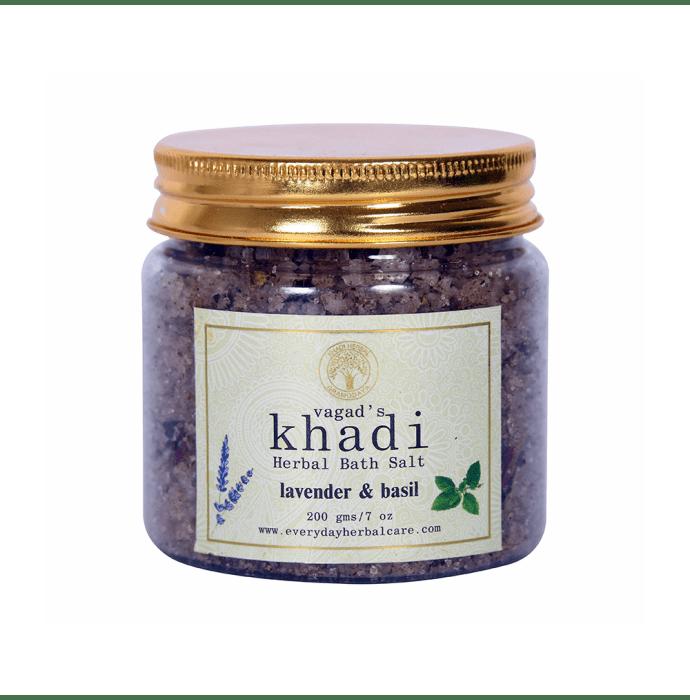 Vagad's Khadi Lavender & Basil Herbal Bath Salt