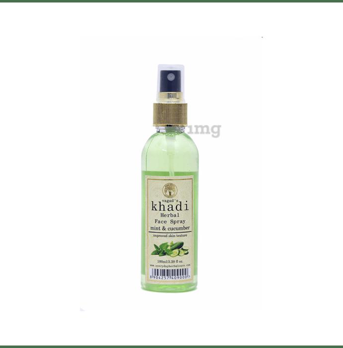 Vagad's Khadi Herbal Mint & Cucumber Face Spray
