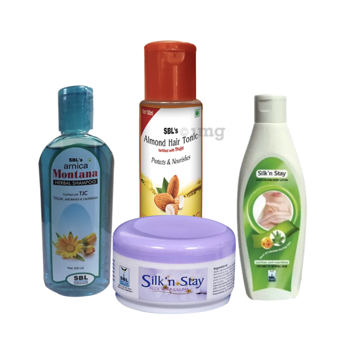 SBL 121 Skin & Hair Care Essentials (Combo Of 4)