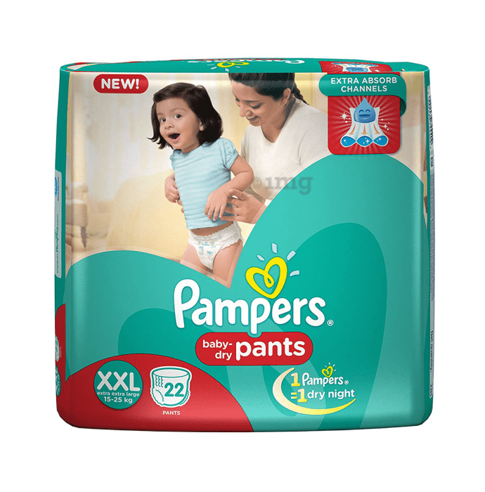 Pampers Baby-Dry Pants XXL