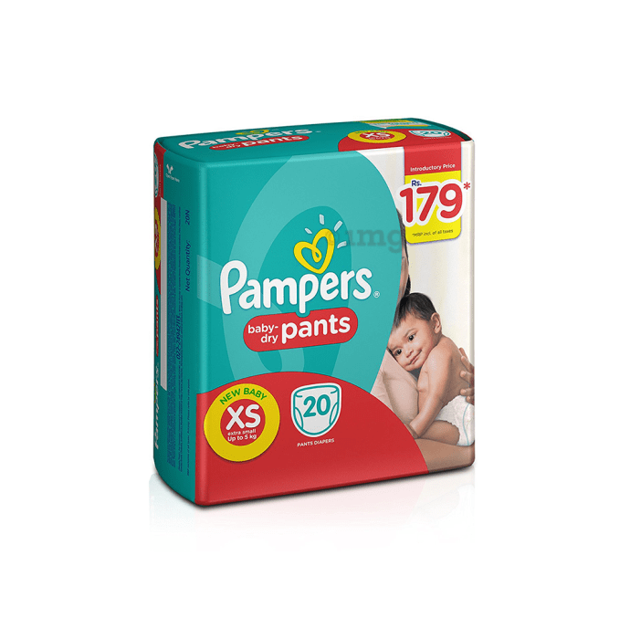 Pampers Baby-Dry Pants XS