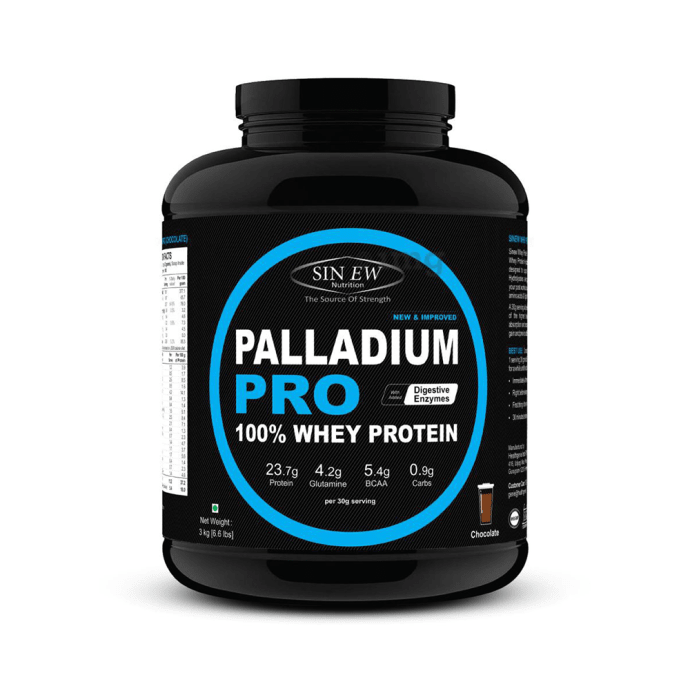 Sinew Nutrition Palladium Pro 100% Whey Protein with Digestive Enzymes Chocolate