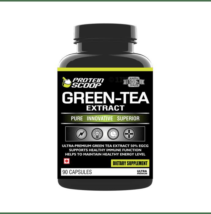 Protein Scoop Green-Tea Extract Capsule