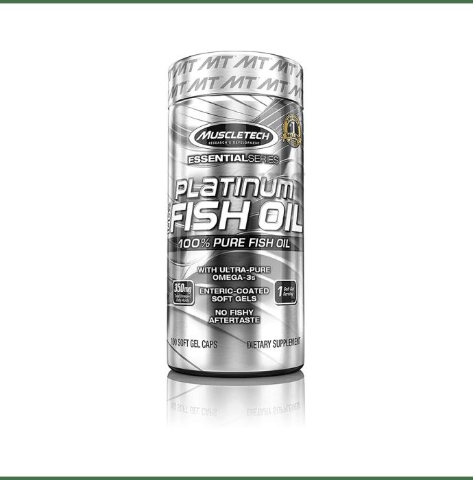 Muscletech Essential Series Platinum Fish Oil Softgel Capsule
