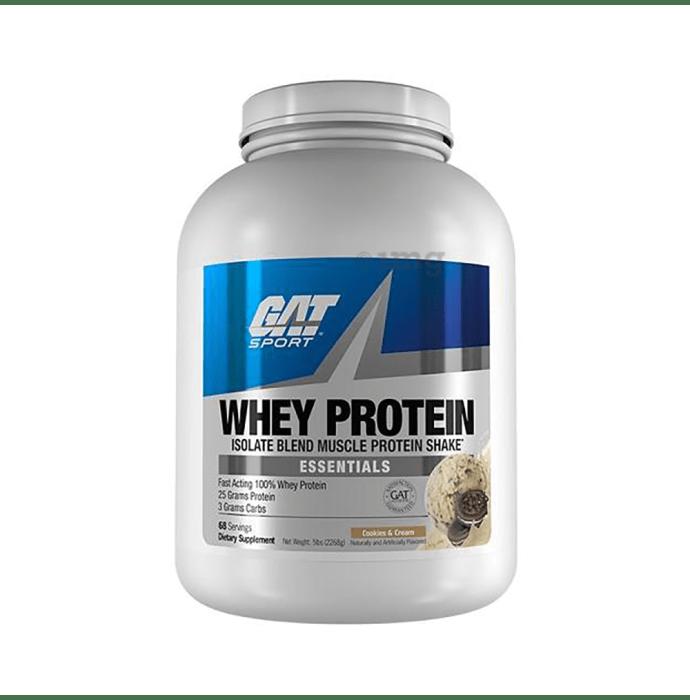 GAT Sport Whey Protein Powder Cookies & Cream