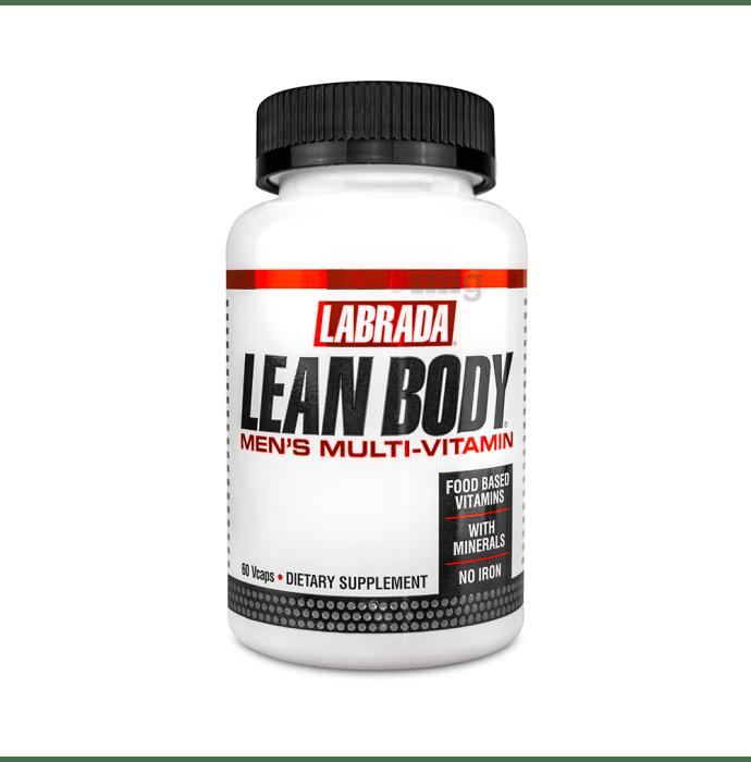 Labrada Nutrition Lean Body Men's Multivitamin Capsule